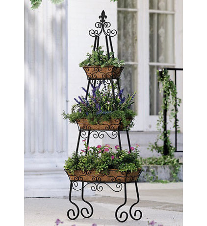 Traditional Outdoor Pots And Planters by Collections Etc.