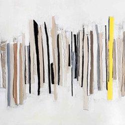 "SCANDINAVIAN ART FACTORY - LARGE ARTWORK, 77""x 39"" - NAME-"" WIDE OPEN 1"""