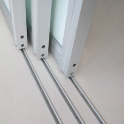 SLIDING DOORS TRACK AND RAIL INSET -