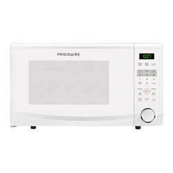 Frigidaire - Frigidaire White FFCM1134LW 1.1 cubic foot Countertop Microwave Oven - Whether you're preparing a quick meal or a light snack,Frigidaire's convenient over-the-range microwave feature one-touch options and extra-large cooking capacity.