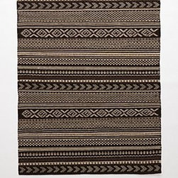Anthropologie - Nordic Flat Weave Rug - Wool, cottonProfessionally cleanImported