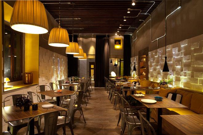 Eclectic  restaurant