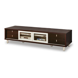 Global Furniture - 722TV TV Cabinet in Wenge - 722TV TV Cabinet in Wenge