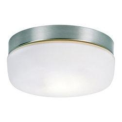 Trans Globe Lighting - Trans Globe Lighting 8872 Single Light Down Lighting Flush Mount Round Ceiling F - Single Light Flush Mount Round Ceiling Fixture