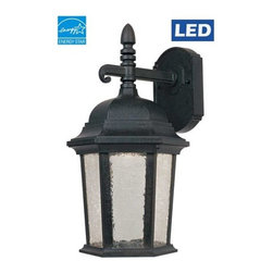 """Designers Fountain - Designers Fountain LED2761 8""""W Single Light Outdoor Wall Sconce from the Abbingt - Features:"""