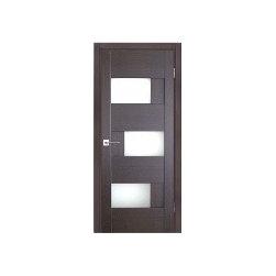 Dominika Glass Interior Door Wenge Finish - Dominika - Wenge Finish