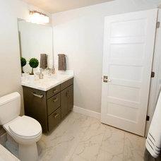 Traditional Bathroom by Ezra Lee Design+Build