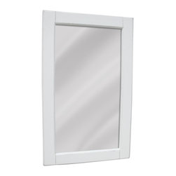 EuroLux Home - New Mirror White/Cream Painted Hardwood - Product Details