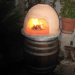 Clay Pizza Oven - Tim Leefeldt Designs