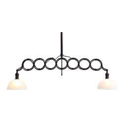 Jade Ceiling Lamp Antique Black Gold - Jade Ceiling Lamp Antique Black GoldDating to l950s Italy, the Jade ceiling lamp was designed for factory illumination. We've reproduced it for the home, enamored of its inventive looks.  Two 60w bulbs are included.  The lamp is UL approved.