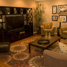 Traditional Family Room by Deb Allen, ASID