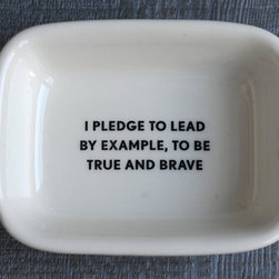 Scout Soap Dish - This is just too cute to pass up, and it will make you smile when you wash up!