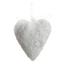 Silk Plants Direct - Silk Plants Direct Glitter Solid Heart Ornament (Pack of 12) - Pack of 12. Silk Plants Direct specializes in manufacturing, design and supply of the most life-like, premium quality artificial plants, trees, flowers, arrangements, topiaries and containers for home, office and commercial use. Our Glitter Solid Heart Ornament includes the following: