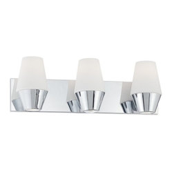 Retrodome 3-Light Bath Sconce