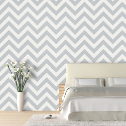 "ZigZag Wallpaper 9.5'feet - ""Swag Paper - Empowering the Do-It-Yourselfer:"