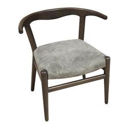 NOIR - NOIR Furniture - Patsy Chair in Pale - GCHA209P - Features: