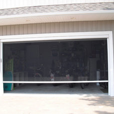 Traditional Garage And Shed by SCREENMOBILE OF DELMARVA