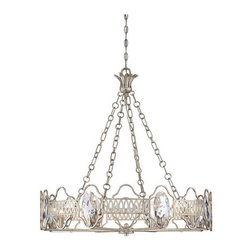 Savoy House - Savoy House 1-8171-8 Hyde Park 8 Light Chandelier - Features: