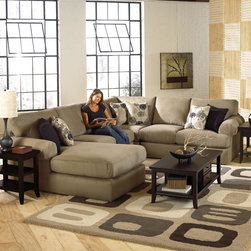 Sectional/Theater Couch by Indoor and Out Furniture - Bree living room sectional sofa available at Indoor & Out Furniture in Chandler, Arizona. Available in: Fabric