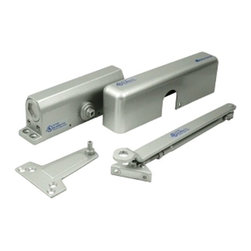 Deltana - Deltana Door Closer, Gold - Deltana door closer DC7 can be installed in three variations