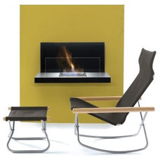 Contemporary Fireplaces by Design Within Reach