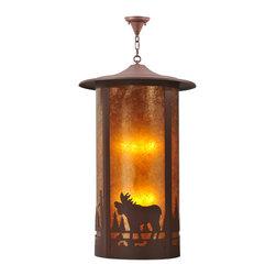 """Meyda Lighting - Meyda Lighting 118489 24""""W Fulton Moose Creek Pendant - Meyda Lighting 118489 24""""W Fulton Moose Creek Pendant"""