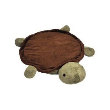 CloudB Twilight Turtle Snug Rug - Kids will want to cuddle with this turtle Snug Rug. It provides a safe, padded play area for both babies and kids who can also use the head of the plush turtle as a pillow. The rug features thick padding and non-slip backing to keep kids safe.