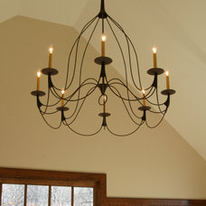 traditional chandeliers by Studio Steel, Inc.