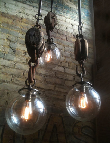 Eclectic  by Omega Lighting Design