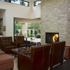 Contemporary Living Room by Nest Architectural Design, Inc.