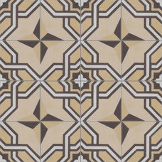eclectic floor tiles by Villa Lagoon Tile