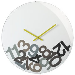 modern clocks by CB2