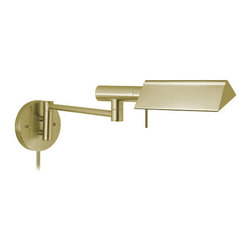 """Sonneman - Sonneman 7013 E-Tenda 1 Light 8"""" Height Plug-In Swing Arm Halogen Wall Sconce - Sonneman 7013 E-Tenda 1 Light 8"""" Height Plug-In Swing Arm Halogen Wall SconceA sturdy, well built swing arm wall sconce that will provide the perfect amount of direct light where you need it.Sonneman 7013 Features:"""