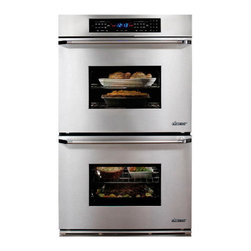 "Dacor Classic Epicure 27"" Double Wall Oven, Stainless W/ Chrome Trim 