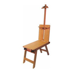 Martin Universal - Martin Universal Mobile Bench Easel - 92-3050 - Shop for Art Easels from Hayneedle.com! The Martin Universal Mobile Bench Easel easily folds down into a compact size that can be transported to your next source of inspiration. This easel provides a sitting area a storage drawer and an adjustable easel for sketching or painting. Handcrafted from hand-oiled elm wood this easel is ideal for working on-site or for displaying finished pieces.About Martin Universal/F. Weber Co.For a century and a half the name Martin Universal and F. Weber Co. have been synonymous with quality art materials. Established in 1853 in Philadelphia Pa. the Martin/Weber is the oldest and one of the largest manufacturers of art materials in the United States.
