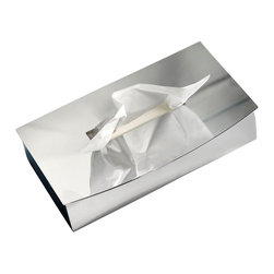 WS Bath Collections - WS Bath Collections Kubic Cool Tissue Box - Features: