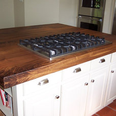 Traditional Kitchen Countertops by WR Woodworking