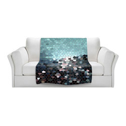 DiaNoche Designs - Patternization II Throw Blanket, Fleece - Original artwork printed to an ultra soft fleece blanket for a unique look and feel of your living room couch or bedroom space. Dianoche Designs uses images from artists all over the world to create Illuminated art, canvas art, sheets, pillows, duvets, blankets and many other items that you can print to. Every purchase supports an artist!