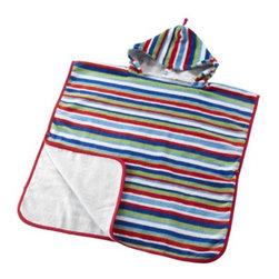 BARNSLIG Towel with hood - Towel with hood, multicolor