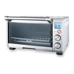 Breville - Breville The Compact Smart Oven Toaster Oven - This 1800 watt toaster oven features Element IQ, which puts power where it's needed most.