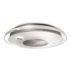 Philips - Philips PH-373414848 Vidro Ceiling with Clear glass, Brushed Nickel - Philips PH-373414848 Vidro Ceiling with Clear glass, Brushed Nickel