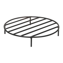Outdoor Classics - Round Steel Outdoor Fire Pit Grate -
