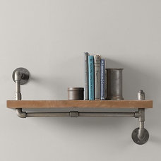 Industrial Pipe Shelf Industrial Pipe Shelf