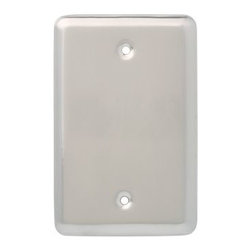 Liberty Hardware - Liberty Hardware 126441 Stamped Round WP Collection 3.15 Inch Switch Plate - Sat - A simple change can make a huge impact on the look and feel of any room. Change out your old wall plates and give any room a brand new feel. Experience the look of a quality Liberty Hardware wall plate.. Width - 3.15 Inch,Height - 4.9 Inch,Projection - 0.2 Inch,Finish - Satin Nickel,Weight - 0.15 Lbs