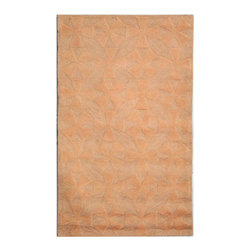 MARTHA STEWART RUGS - Quilt Pink and Sand Rectangular: 5 Ft. x 8 Ft. Rug - - This cotton rug is inspired by antique textile using quilt motifs.  - Please note this item has a 30-day manufacturer's limited warranty that covers product defects. Inspect your purchase upon delivery & notify us immediately with any concerns. MARTHA STEWART RUGS - MSR1543B-6
