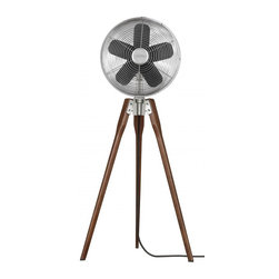 Joshua Marshal - Nickel Portable Fan - Nickel Portable Fan