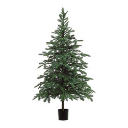 Silk Plants Direct - Silk Plants Direct Picea Fir Tree (Pack of 1) - Silk Plants Direct specializes in manufacturing, design and supply of the most life-like, premium quality artificial plants, trees, flowers, arrangements, topiaries and containers for home, office and commercial use. Our Picea Fir Tree includes the following: