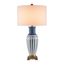 Currey and Company - Currey and Company Galene Transitional Table Lamp X-1376 - Currey and Company Galene Transitional Table Lamp X-1376