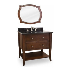 Lyn Design - Lyn Design Lexington Modern 25 X 35 Chocolate Vanity - Lyn Design Lexington Modern 25 X 35 Chocolate Vanity