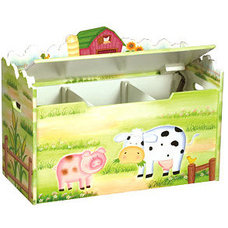 Contemporary Kids Storage Benches And Toy Boxes by MyToyBox